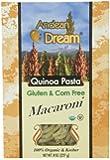 Andean Dream Quinoa Pasta, Og, Macar, Gf, 8-Ounce (Pack of 6)