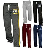 Men's Fleece Joggers Track Suit Bottom Jogging Exercise Fitness Boxing MMA Gym Sweat Cotton Fleece Trousers