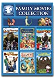 Dove Approved Family Movies Collection: 6 Films (Animaland, Bigfoot, The Legend of Sasquatch, The Dogfather, Impys Island, Abe and Bruno)