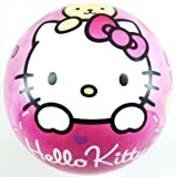 Hello Kitty PVC Plastic Football Play Beach Ball Kid Girl Party Child Pool Birthday Garden Summer Fun 23cm