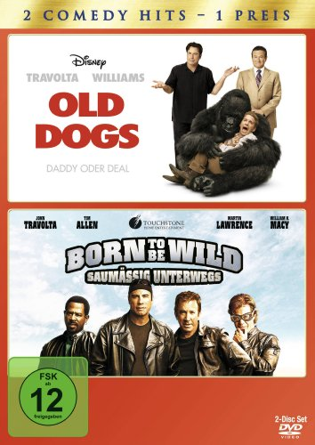 Old Dogs - Daddy oder Deal / Born to be Wild - Saumässig unterwegs [2 DVDs]
