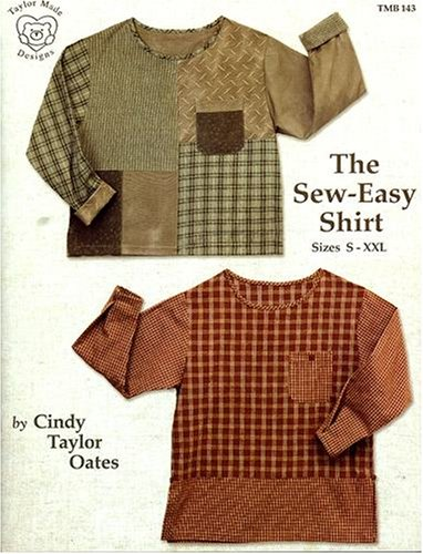 The Sew-Easy Shirt Pattern Book (Taylor Made Designs) (Cindy Taylor Oates Sew compare prices)
