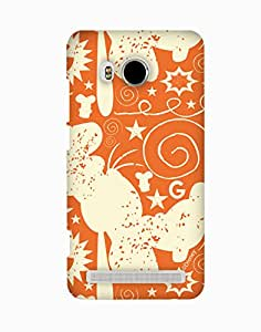 Pick Pattern with Exclusive DISNEY Characters Back Cover for vivo Xshot