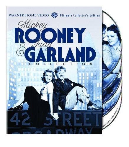 Cover art for  The Mickey Rooney & Judy Garland Collection (Babes in Arms / Babes on Broadway / Girl Crazy / Strike Up the Band)