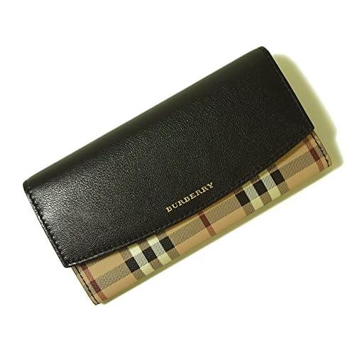 (バーバリー)BURBERRY 財布 レディース 二つ折り長財布 バーバリーチェック 3922383 BR-1028 [並行輸入品]
