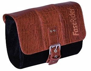 FastRider Charley Saddle Bag - Brown/Black, 1.5 Litres (Old Version)