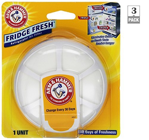 Arm and Hammer Fridge Fresh Air Filters (Pack of 3) (Hammer Fridge compare prices)