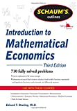 img - for Schaum's Outline of Introduction to Mathematical Economics, 3rd Edition (Schaum's Outline Series) book / textbook / text book