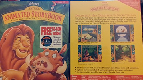 The Lion King Animated Storybook