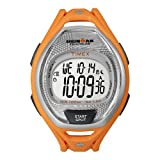 Timex Men's T5K5129J Ironman Sleek 50-Lap Orange Resin Strap Watch