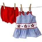 Stripes and Stars Bloomer Set