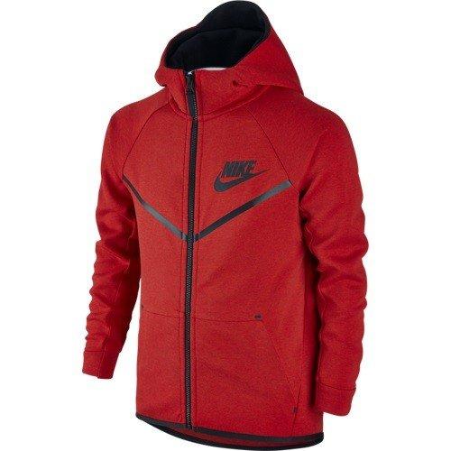 NIKE Tech Fleece Pak Junior - rood - 804730-654