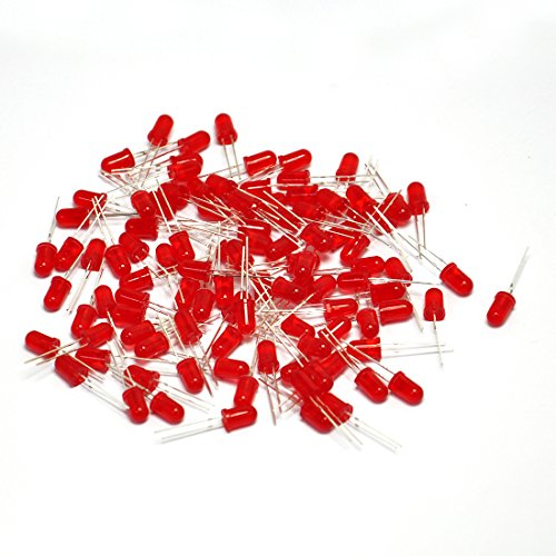 Gikfun 5mm Light Led for Arduino (Pack of 100pcs) EK1643_