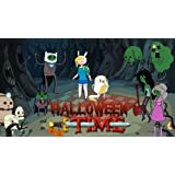 Adventure Time Halloween Time Edible Image Cake Cupcake Topper