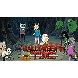 Adventure Time Halloween Time Edible Image Cake Cupcake Topper