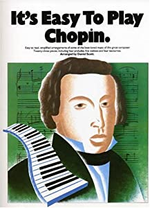 Its Easy To Play Chopin by Omnibus Press