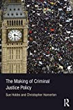 img - for The Making of Criminal Justice Policy book / textbook / text book