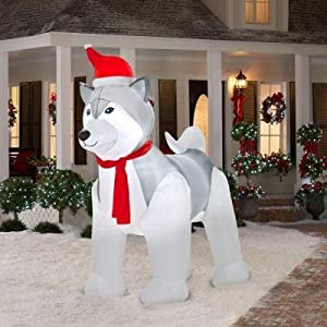 Gemmy inflatable 9 39 huge holiday christmas for Home depot christmas lawn decorations