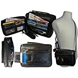 Mens Mans Soft Leather Travel Organiser Utility Man Bag Shoulder Bags RL521