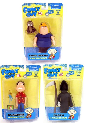 Picture of Mezco Family Guy Classic Figure Series 3 Case Of 12 (B0044UBRX6) (Mezco Action Figures)