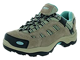 Hi-Tec Women\'s Bandera Low WP Wos Taupe/Dusty Mint Hiking Shoe 6 Women US