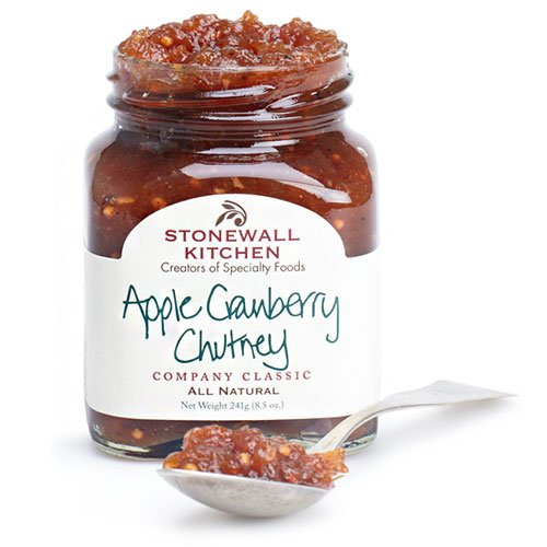 Stonewall Kitchen Apple Cranberry Chutney, 8.5 Ounces