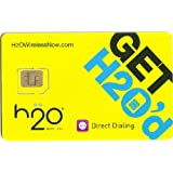 H2O Wireless Dual Sim Card Starter Kit Micro and Standard Sim Combo