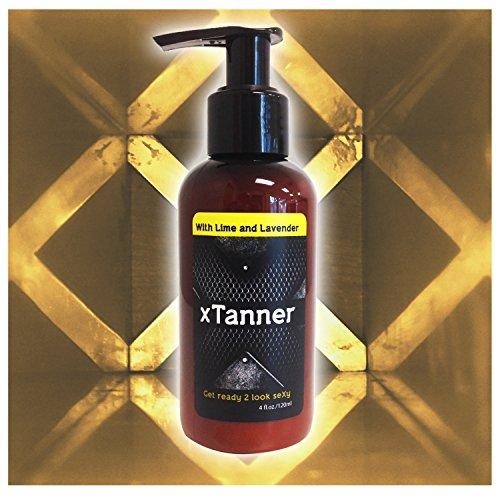 Organic Self Tanner for Men by xTanner (4oz)