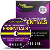 PROJECT TEMPLATES® - 52 Essential Project Management Documents - CD ROM - Processes, Procedures, Strategies, Plans, & Forms - Lifetime Guarantee