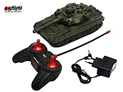 RC 4 Channels Multifunction Toy War Tank