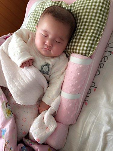ziweiba verhindern Spit Milch Baby Keilkissen: Sodbrennen Relief, flach Head Prävention, Anti Koliken, Feuchtigkeit Reduzierung & Atmungsaktiv Design -