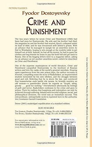 Crime And Punishment 800759415878