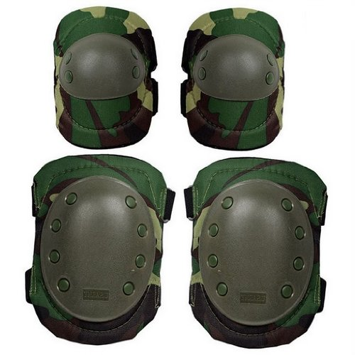 Storage pad left SWAT protector elbow focused protection elbow - 0 - knee on knee set only bag with (jungle Camo)