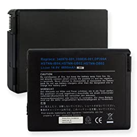 Hewlett Packard Pavilion ZV5445US-PU600UAR Laptop Battery, Li-I
