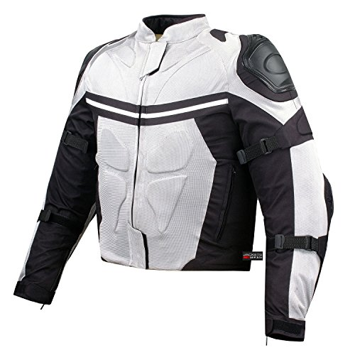 PRO MESH MOTORCYCLE JACKET RAIN WATERPROOF WHITE L (Pro Mesh Motorcycle Jacket Rain compare prices)