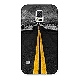 Unicovers Road Back Case Cover for Samsung Galaxy S5