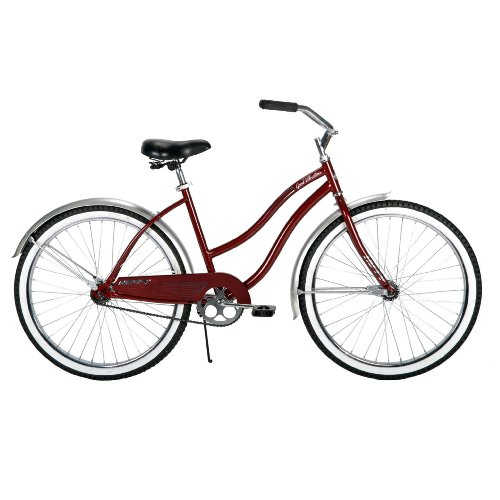 Huffy Women's Good Vibrations Bike (26-Inch Wheels, Maroon)