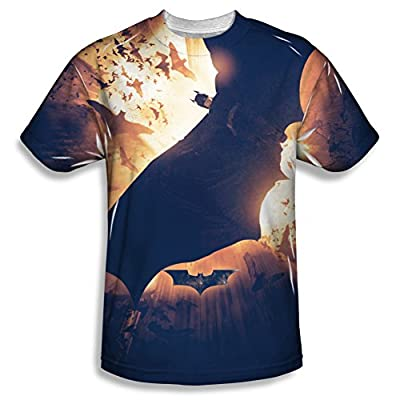 Batman Colony All Over Print Front T-Shirt