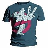 Bravado Ghostbusters - GB2 Logo - Blue - Mens t-shirt Blue