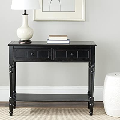 Console Tables Color Distressed/Black
