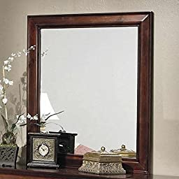 Coaster 200434 Home Furnishings Mirror, Red Brown