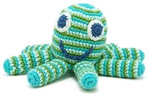 Octopus Rattle - Green