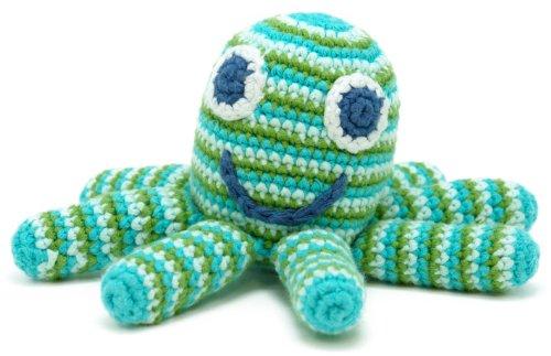 Octopus Rattle - Deep Green - 1