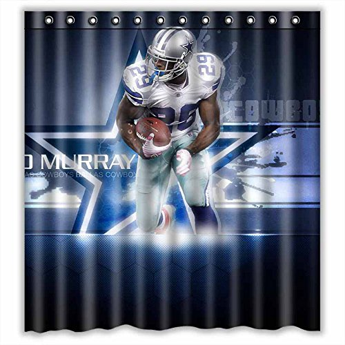 Personalized Indianapolis Colts Football 60 x 72 Inch shower curtains Bath