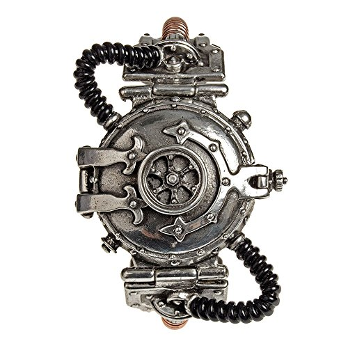 Orologio EER Steam-PoweRosso Entropy Calibrator Alchemy Gothic (Peltro)