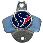 NFL Houston Texans Wall Bottle Opener