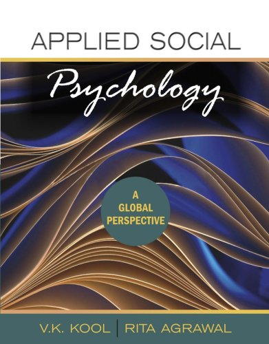 Applied Social Psychology: A Global Perspective