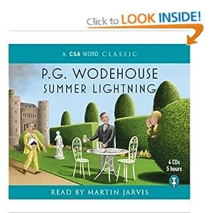 P.G. Wodehouse - Summer Lightning Audiobook (4 cds)