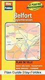 echange, troc Plans Blay Foldex - Plan de ville : Belfort (avec un index)