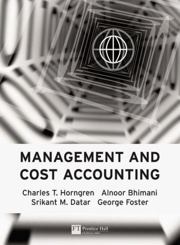 Cost Accounting: AND How to Write Essays and Assignments